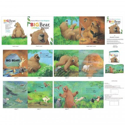 Big Bear Small Mouse - Fabric Book