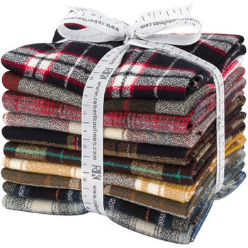 Mammoth Flannel Fat Quarter Bundle