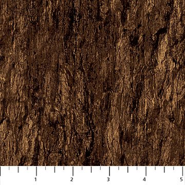 The Great Outdoors Flannel - Dark Brown Bark
