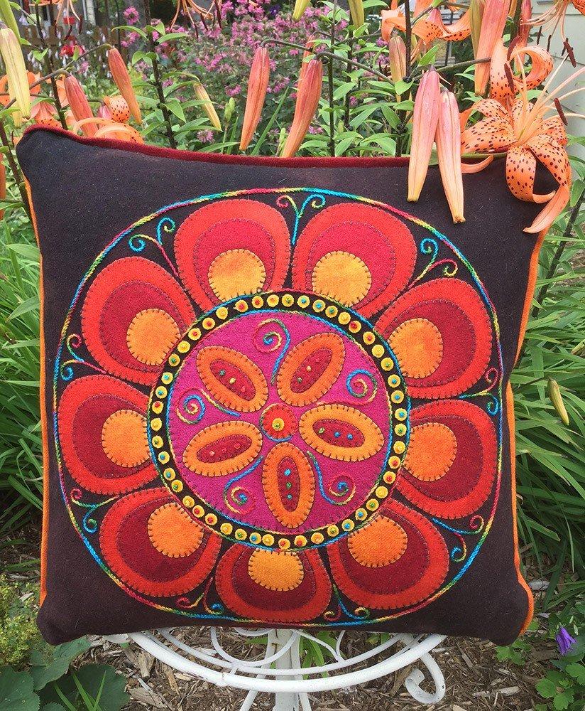 Floral Fire Pillow Kit