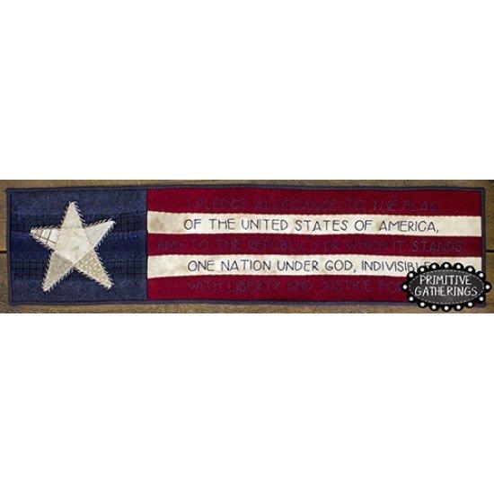 I Pledge Allegiance Banner Kit