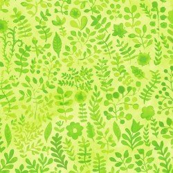 Floral Menagerie - Green Sprigs