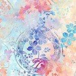 Garden of Dreams - Ivy Rings - Soft Peach
