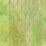 Garden of Dreams - Ogee Leaf - Green