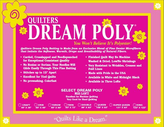 Dream Poly Select - Throw - 60x60