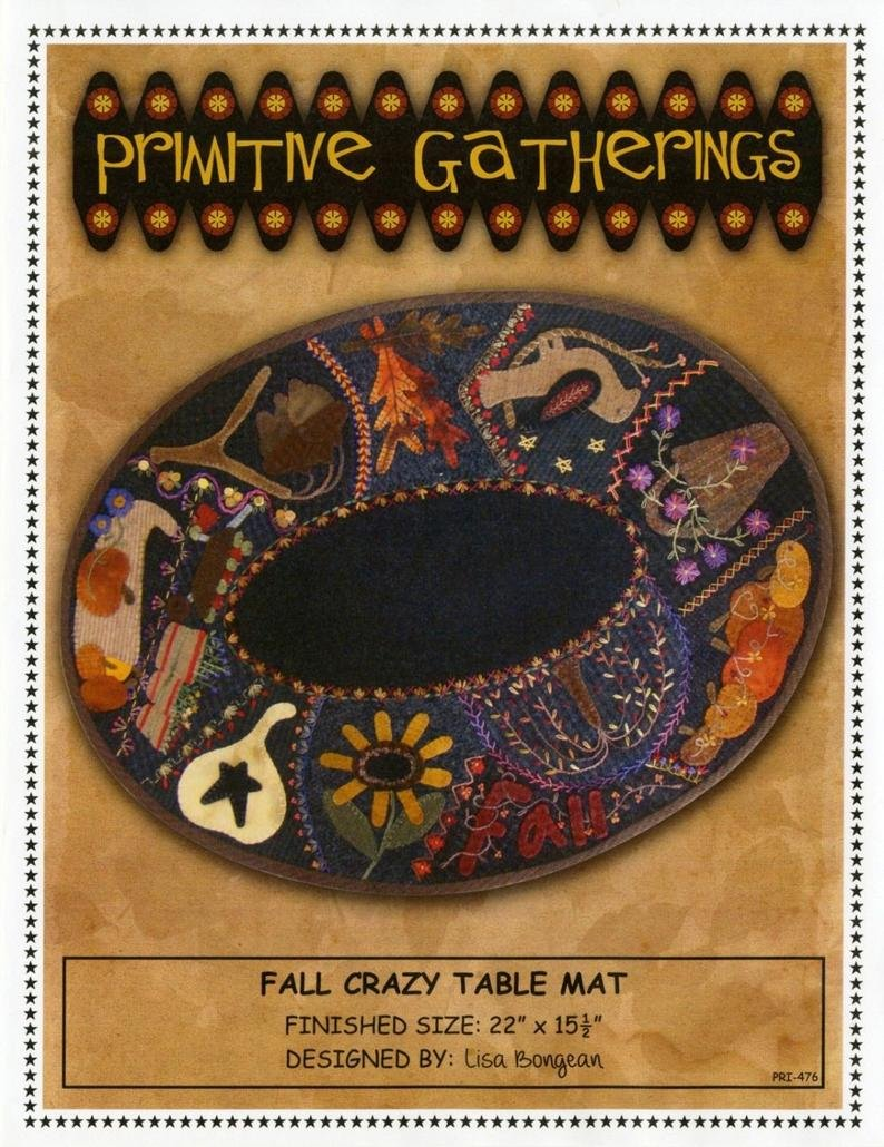 Fall Crazy Table Mat Kit