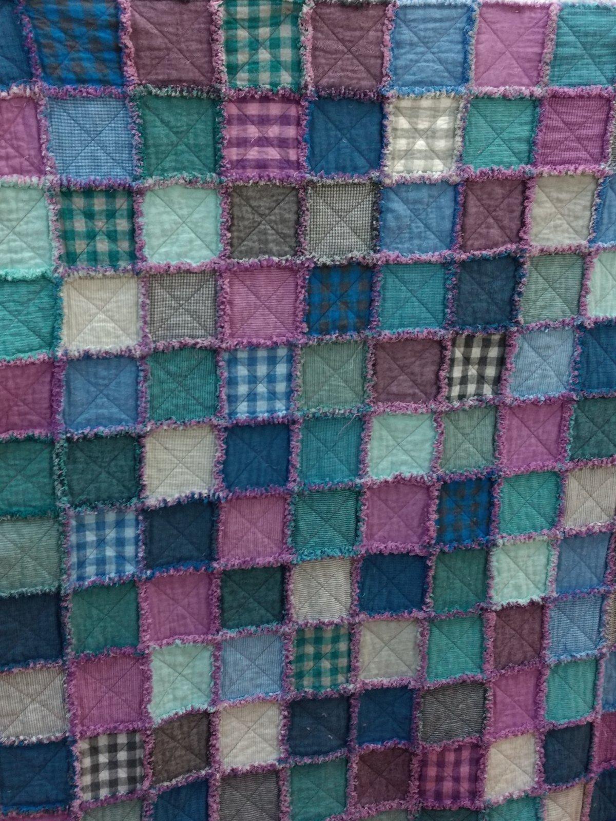 Little Charmers Rag Quilt Kit