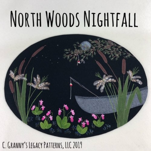 North Woods Nightfall Wool Kit - 16 x 21