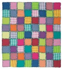Color Crush Rag Quilt Kit - 64 x 72