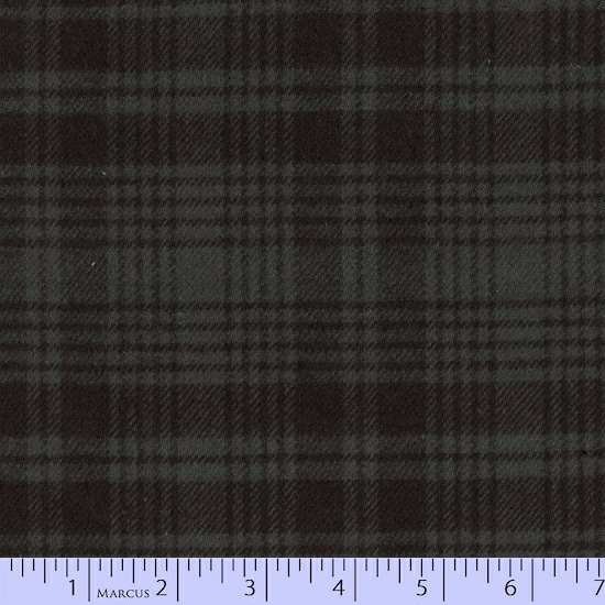 Primo Plaid Charcoal and Black Plaid