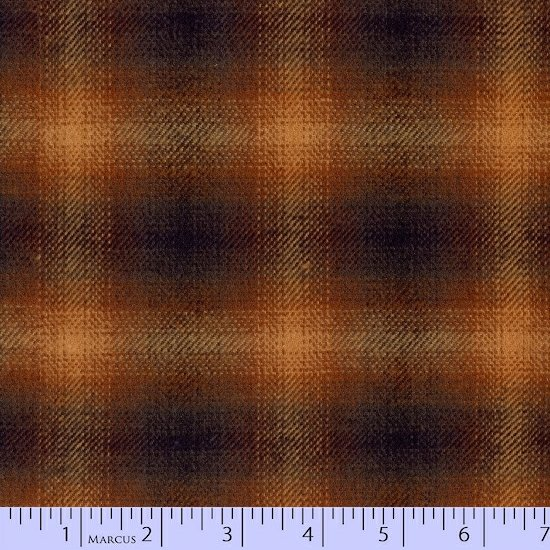Primo Plaid - Brown w/Gold