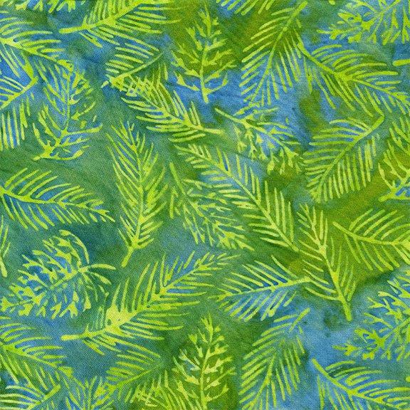 Island Batik Rayon - Jade Jungle