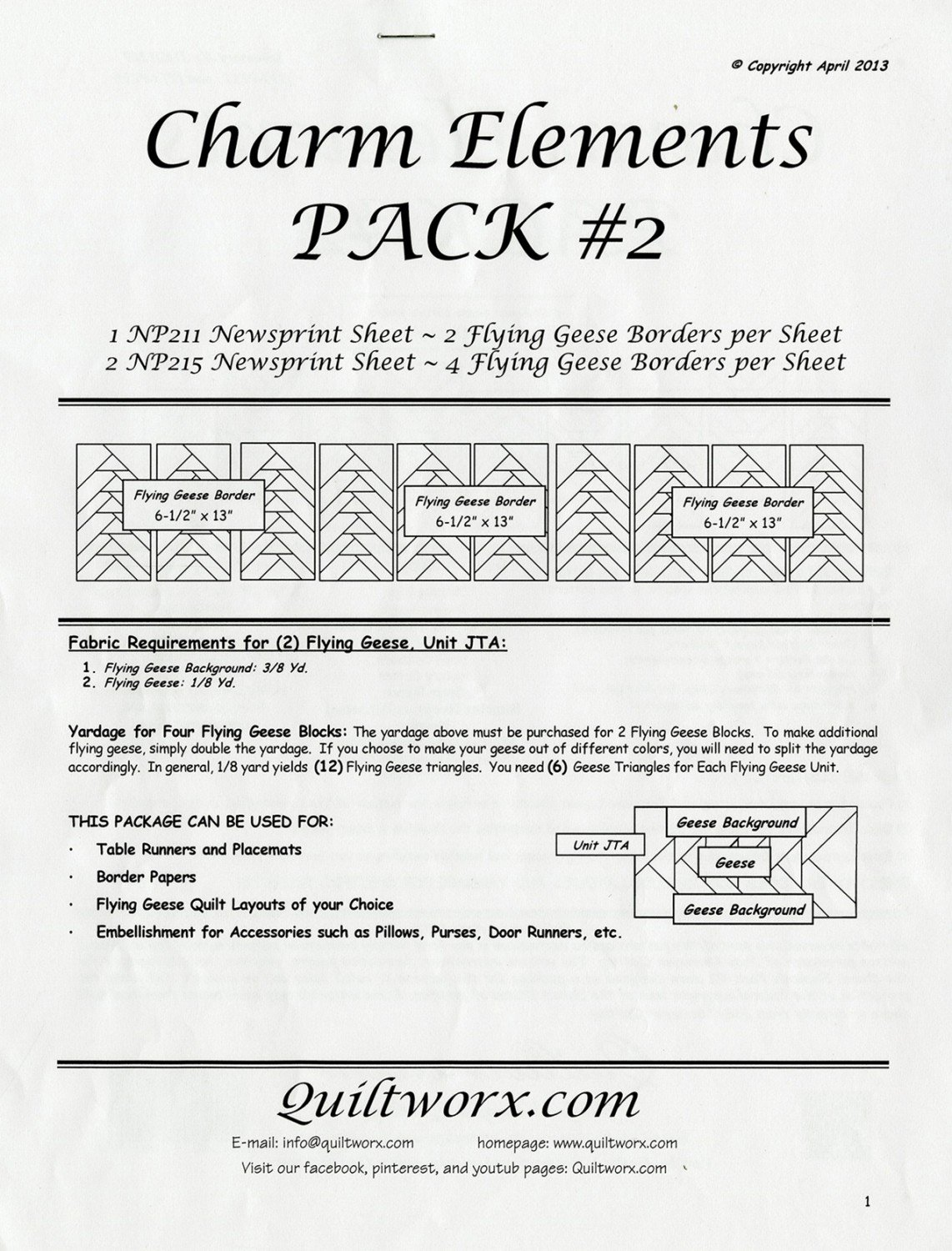 Charm Elements Pack 2