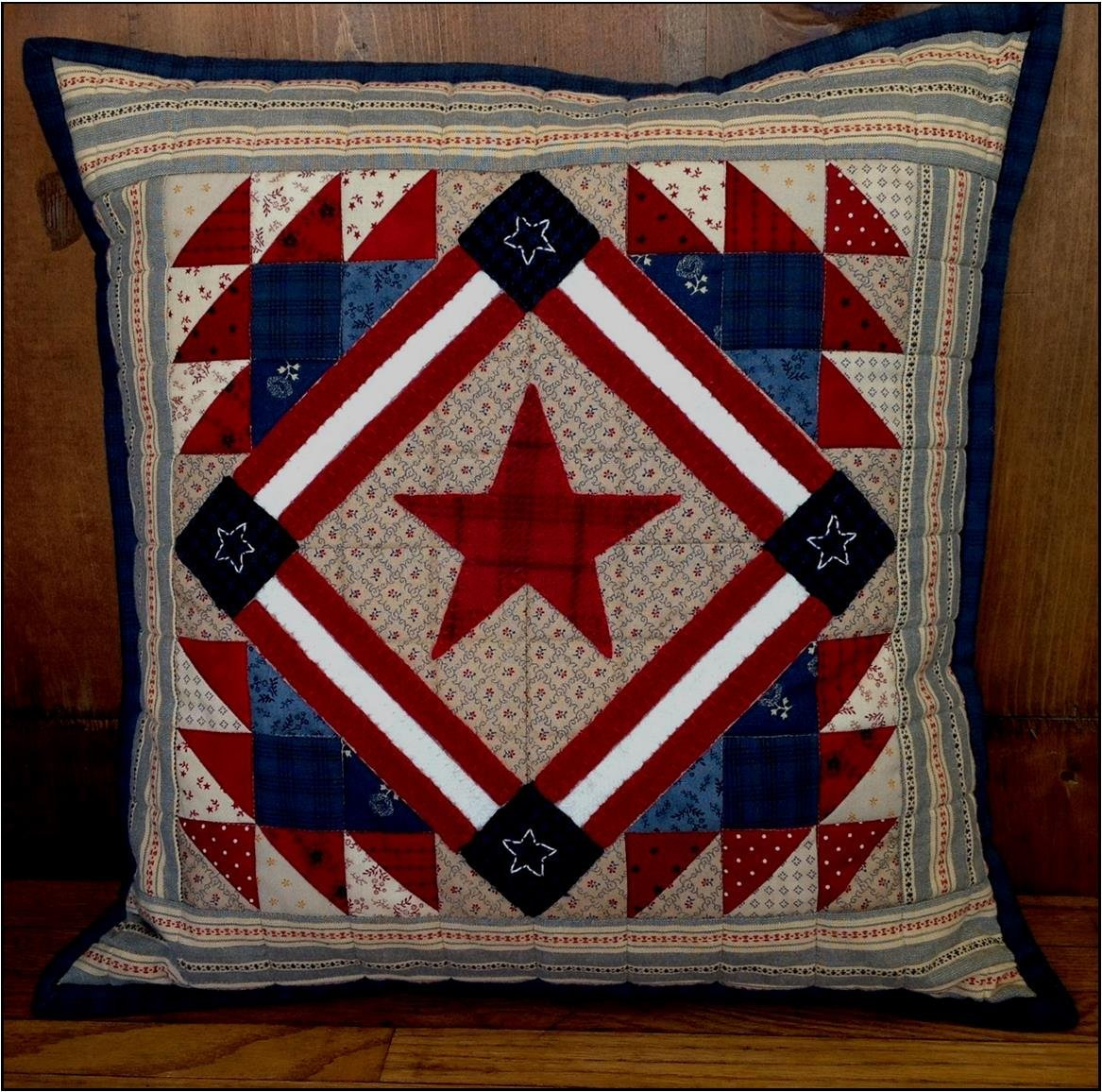 July Stars Pillow