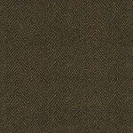 Woolies Flannel - Dark Brown Herringbone