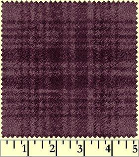 Woolies Flannel -Purple plaid