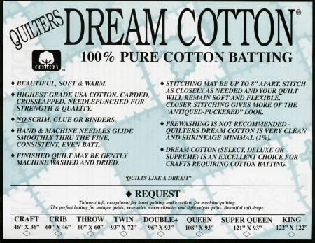 Dream N. Cotton Request - Throw