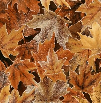 Frosted Fall Gold Ochre