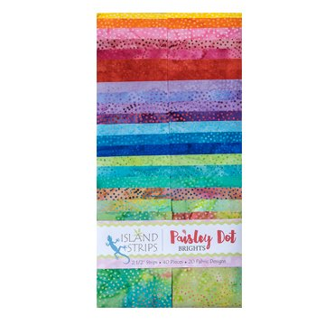 Paisley Dot Brights Strip Pack