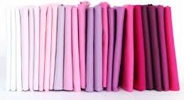 Elizabeth Princess Cut Diamond Fat Quarter Bundle - Pink