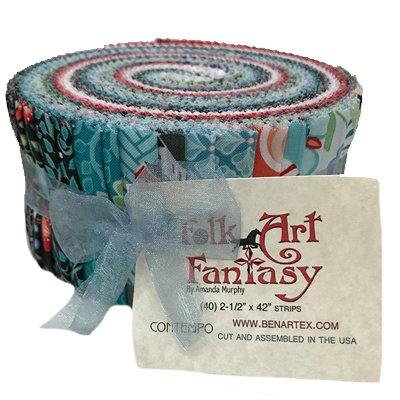 Folk Art Fantasy Pinwheel