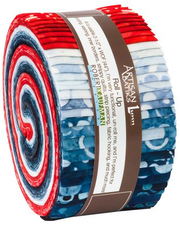 Artisan Batiks Color Source Roll Up - Patriotic