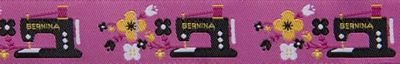 Renaissance Ribbons Black Sewing Machine - 7/8 in.