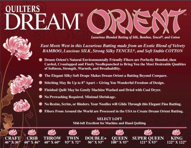 Dream Orient - King 120 x 122