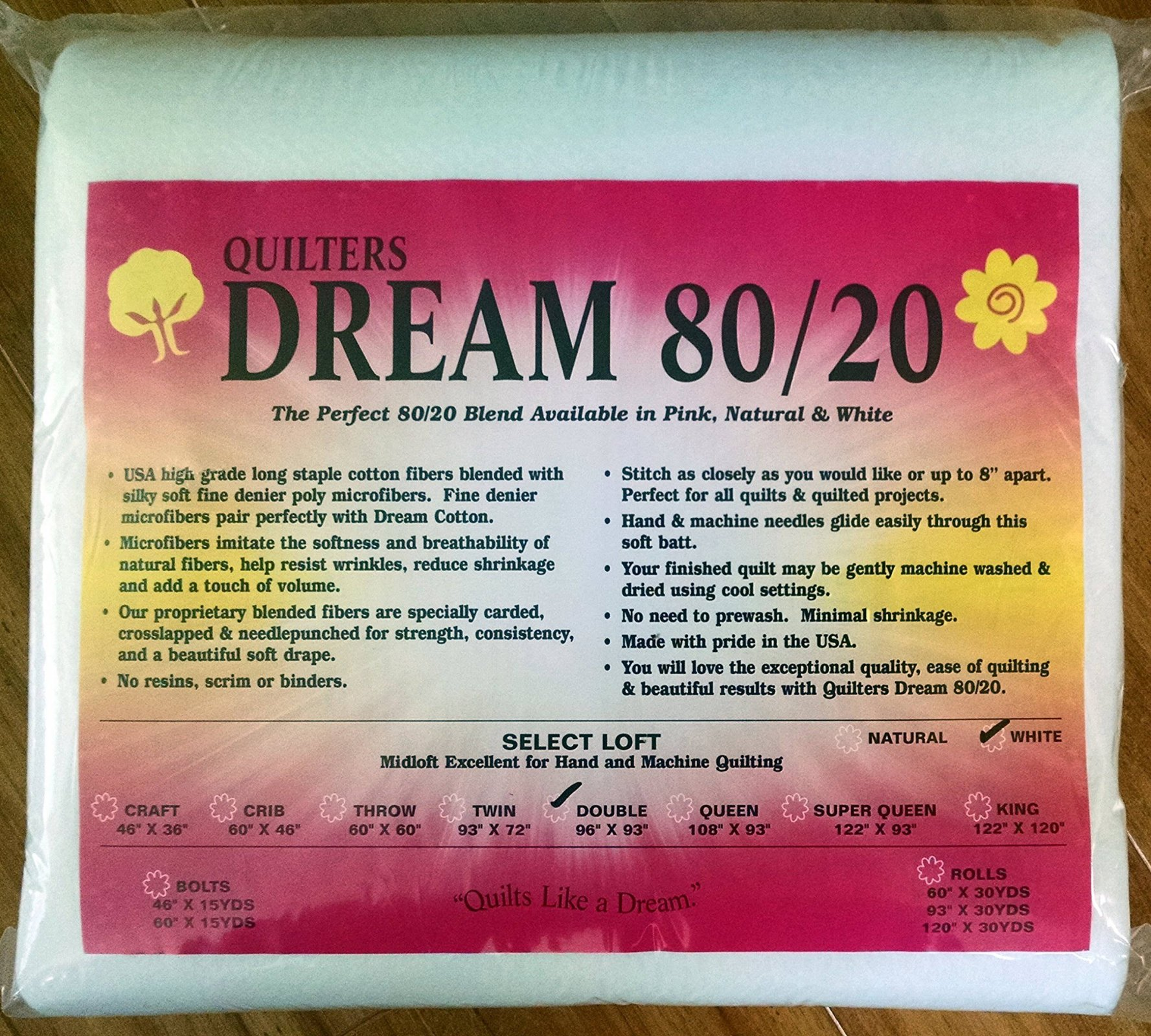 Dream 80/20 - Twin - 93 x 72