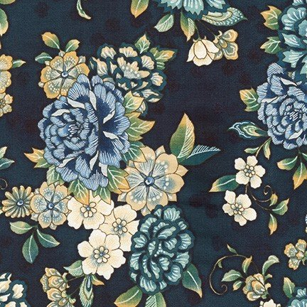 Calista Pearl - Large All Over Floral