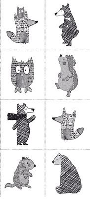 Woodland Forest Animals