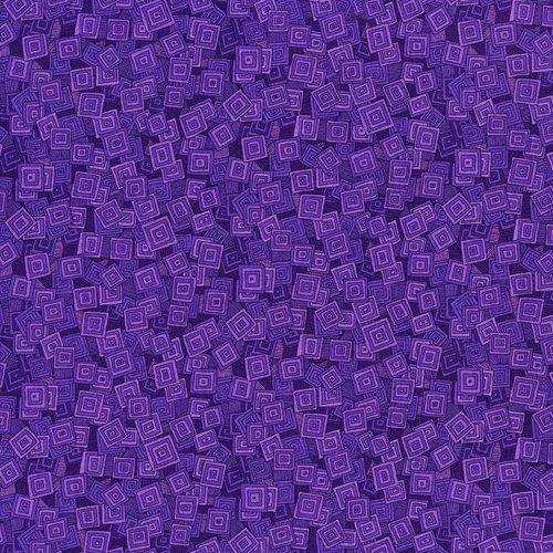 Hopscotch - Iris Overlapping Squares