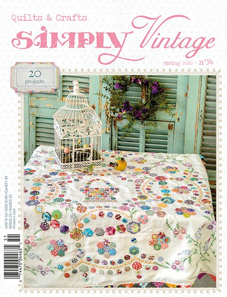 Simply Vintage Quilts & Crafts #34