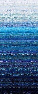 Hoffman Waves - Ombre Bluebird