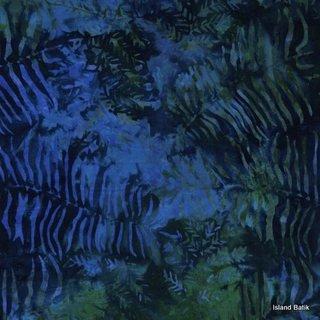 Island Batik Rayon - Twilight Garden