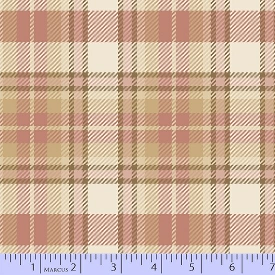 Primo Plaid Flannel - Chalk & Timber Large Pink Plaid