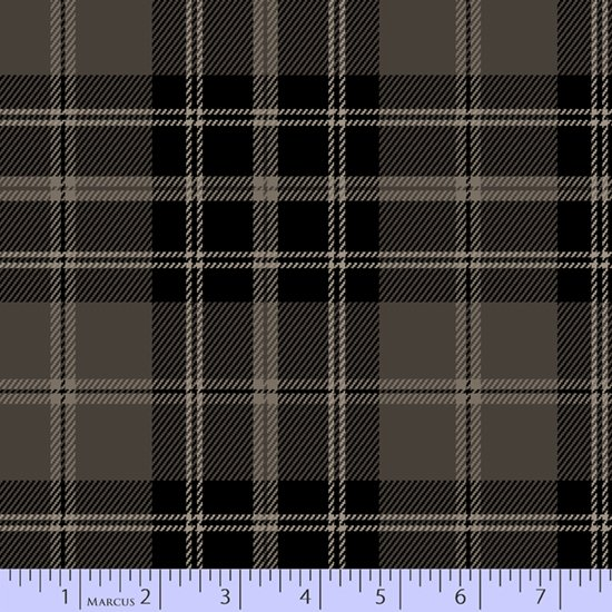 Primo Plaid - Highland Gray/Charcoal Large Plaid