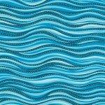 LB Basic Wave Aqua Metallic