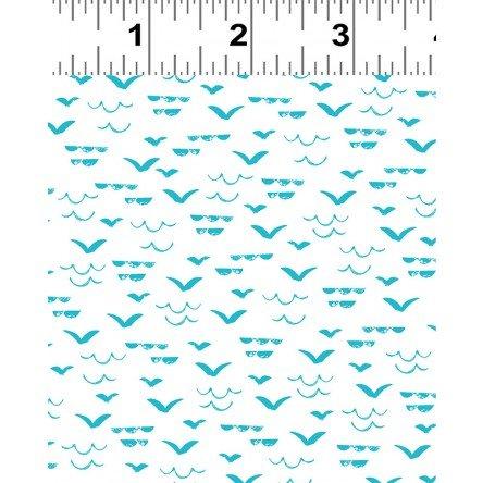Nautical Fish - Aqua Waves