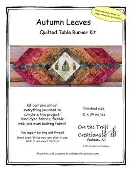 Autumn Leaves Table Runner Kit