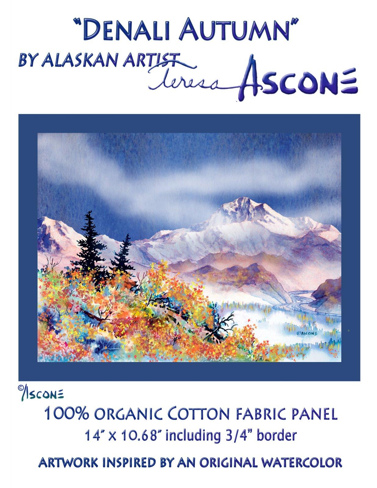 T Ascone Denali Autumn Panel