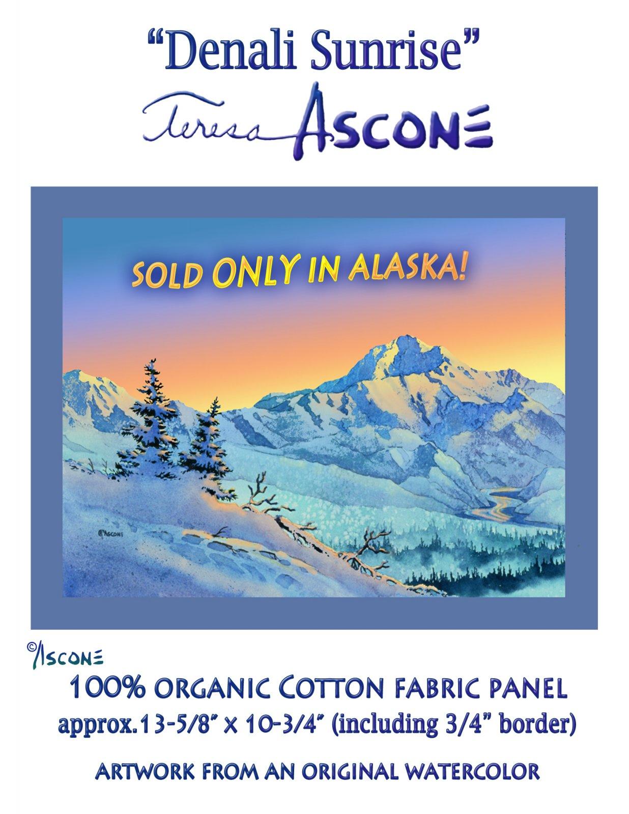 T Ascone Denali Sunrise Panel