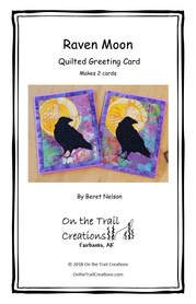 Raven Moon Quilted Card Kit