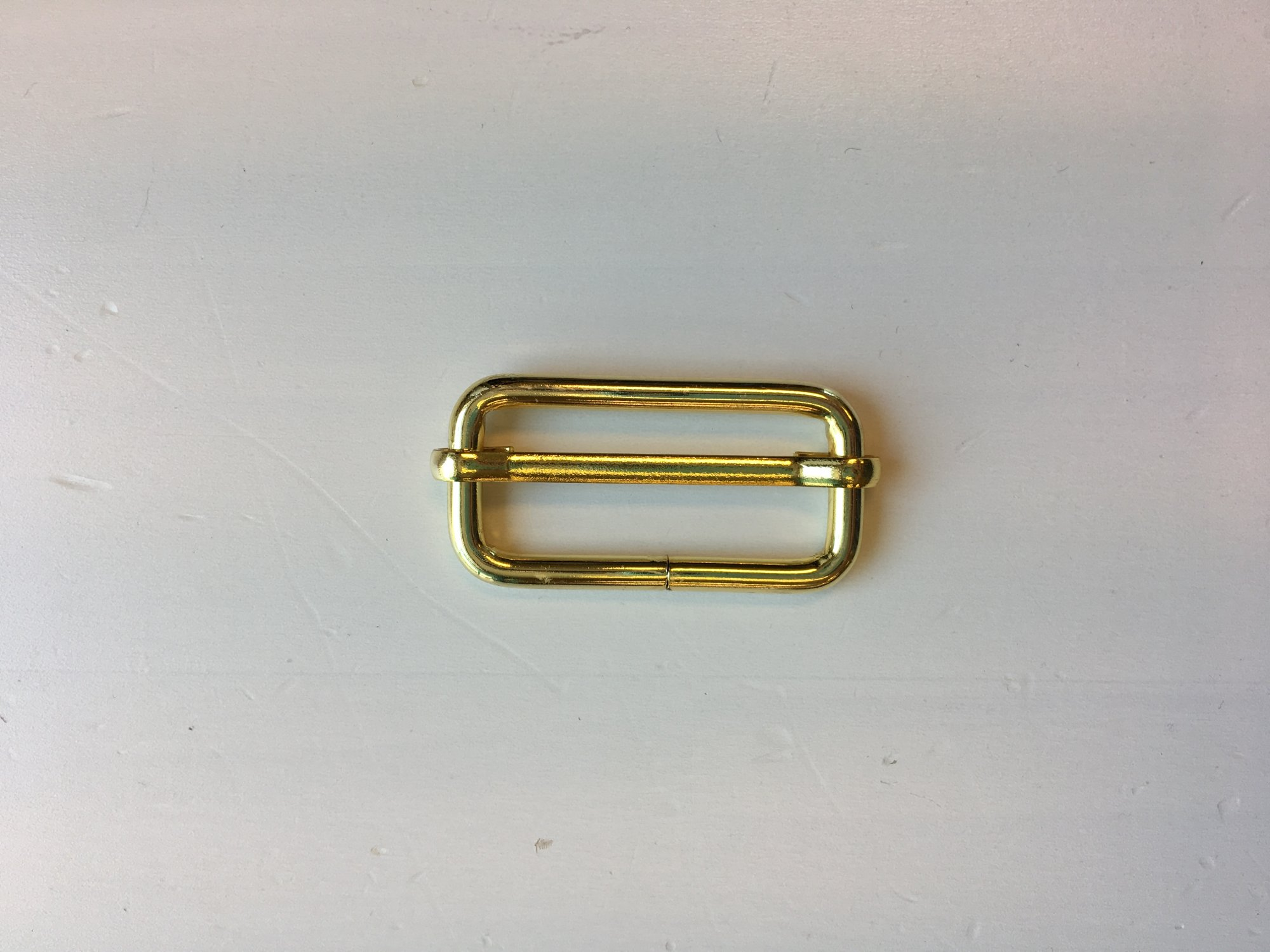 1 1/2 Gold Slide Buckle