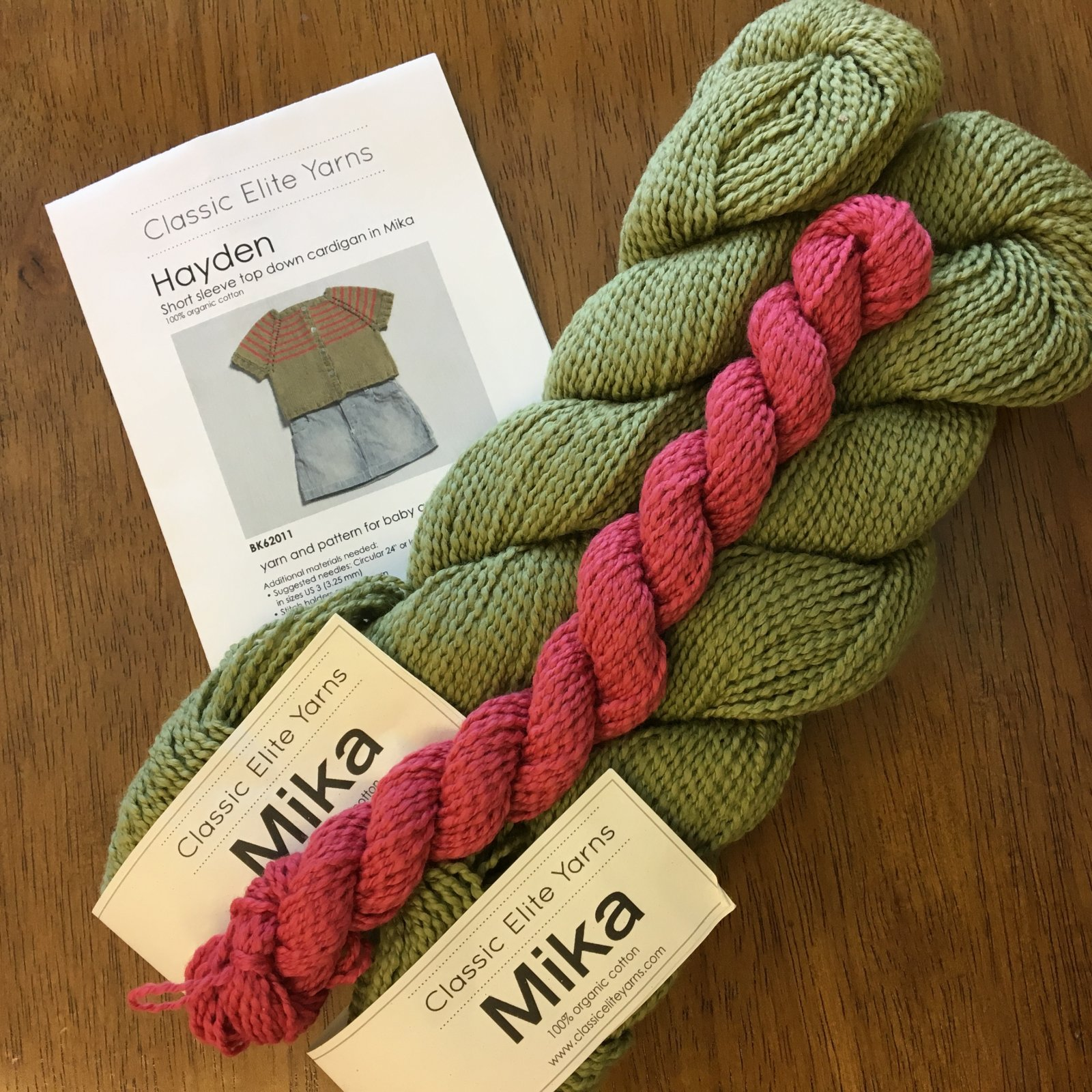 Hayden Baby Cardigan Kit