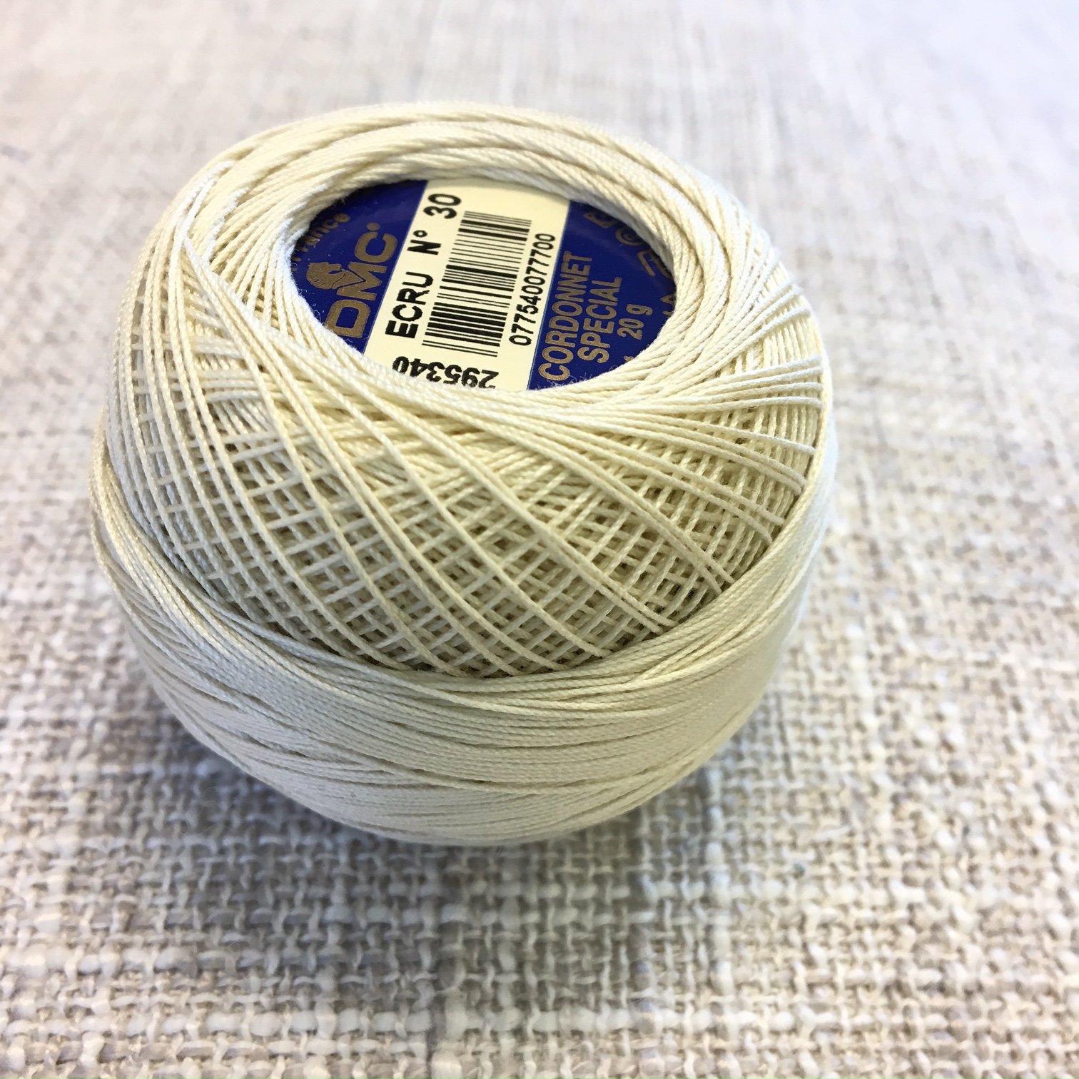Crochet Cotton #30 - Ecru