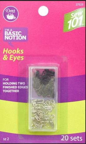 Dritz  Hooks & Eyes