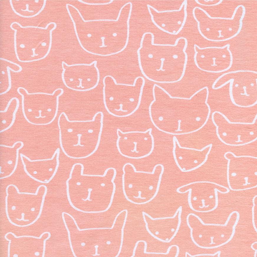 Hello Peach Knit