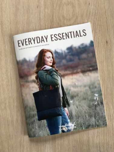 Everyday Essentials Booklet: a mini pattern collection by Noodlehead