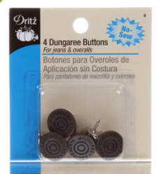 Button Dungaree Copper